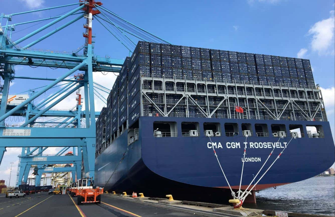 NY/NJ handles 14,400 teu vessel following Bayonne Bridge raising