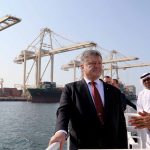 President Poroshenko visited Jebel Ali