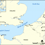The shortest distance between the mainland UK and France is just 33km
