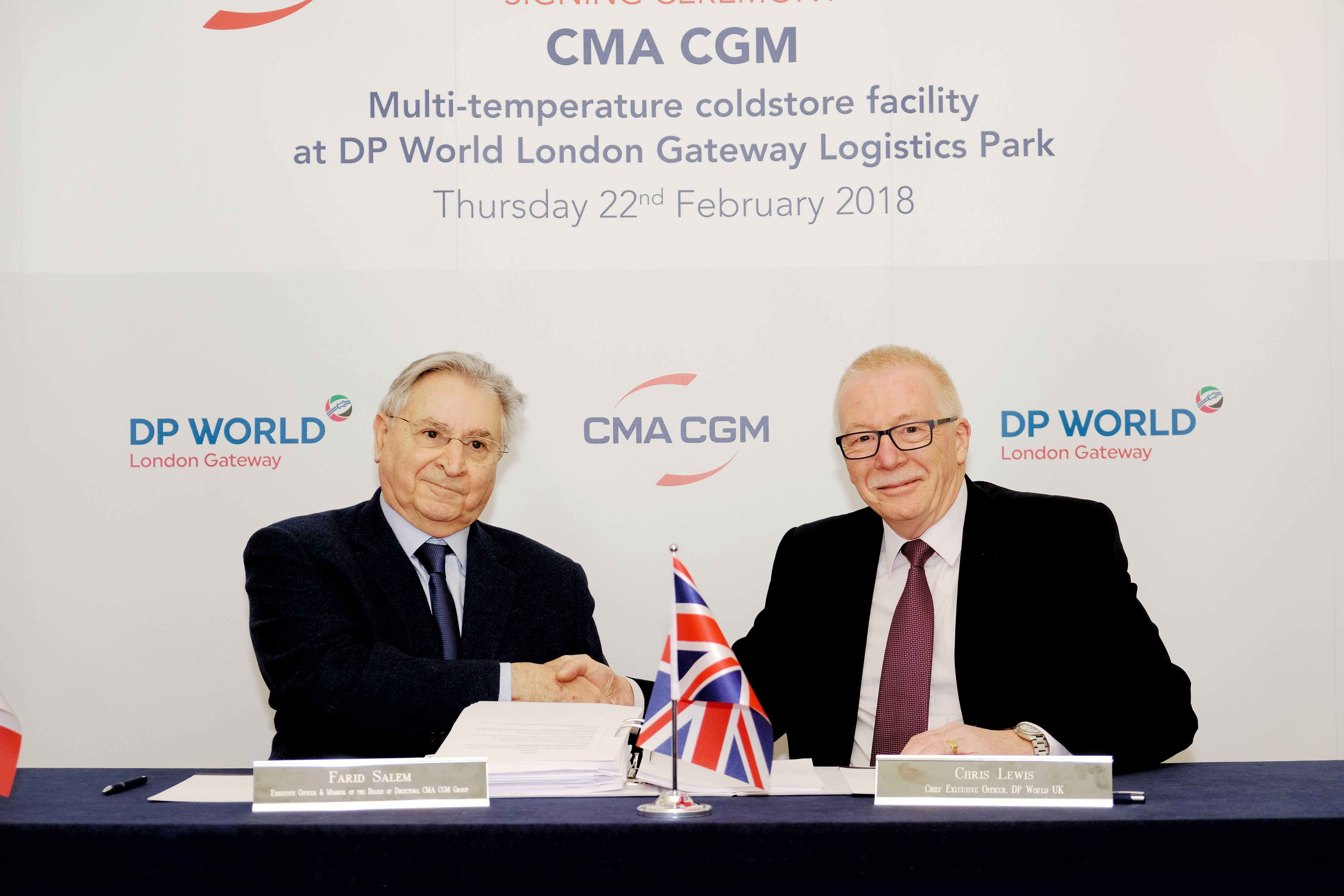 CMA CGM to set up multi-temperature warehouse at London Gateway