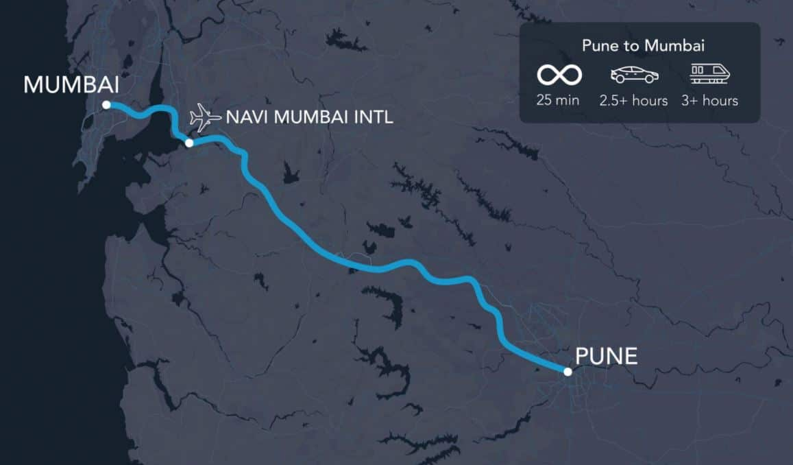 Hyperloop connecting Port of Mumbai with Pune on the cards
