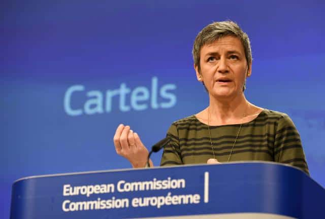 European Commission fines Japanese carriers for cartel