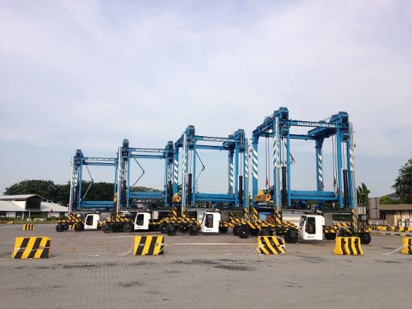Northport receives straddle carriers