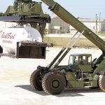 Kalmar's reachstacker for military use