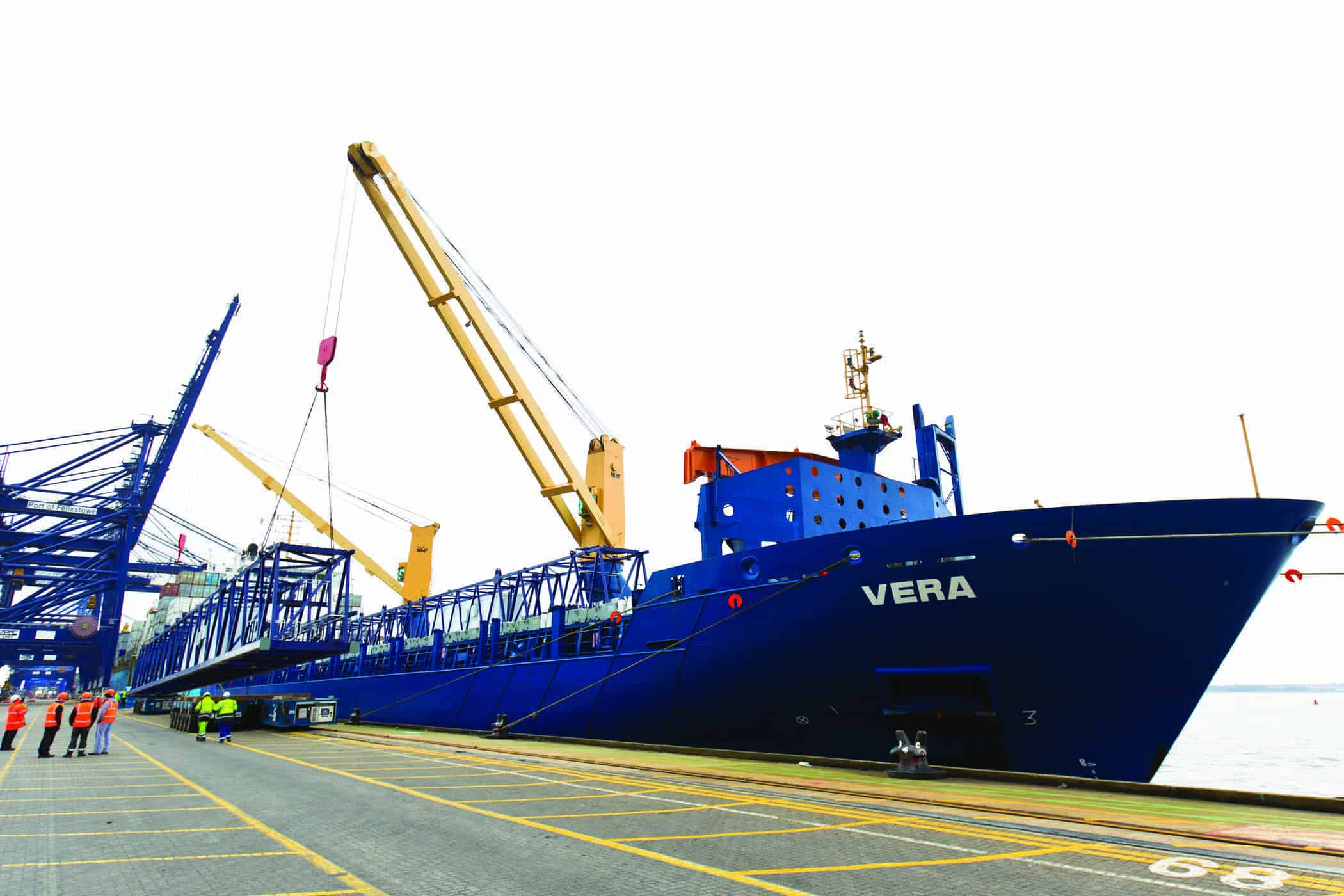 Felixstowe to double rail capacity