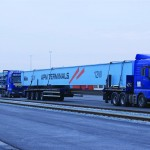The first two ARMGs have been delivered to Maasvlakte II