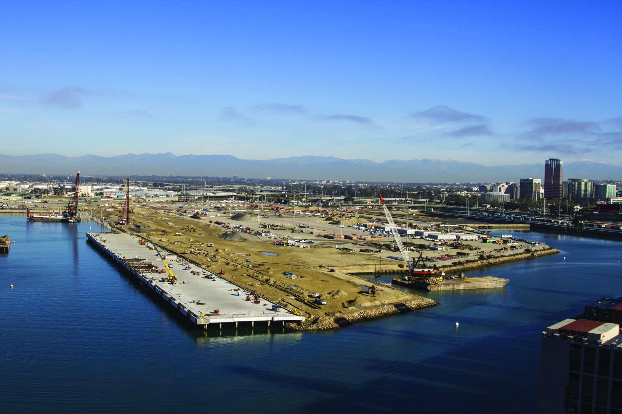 Long Beach Middle Harbour redevelopment project is a national example