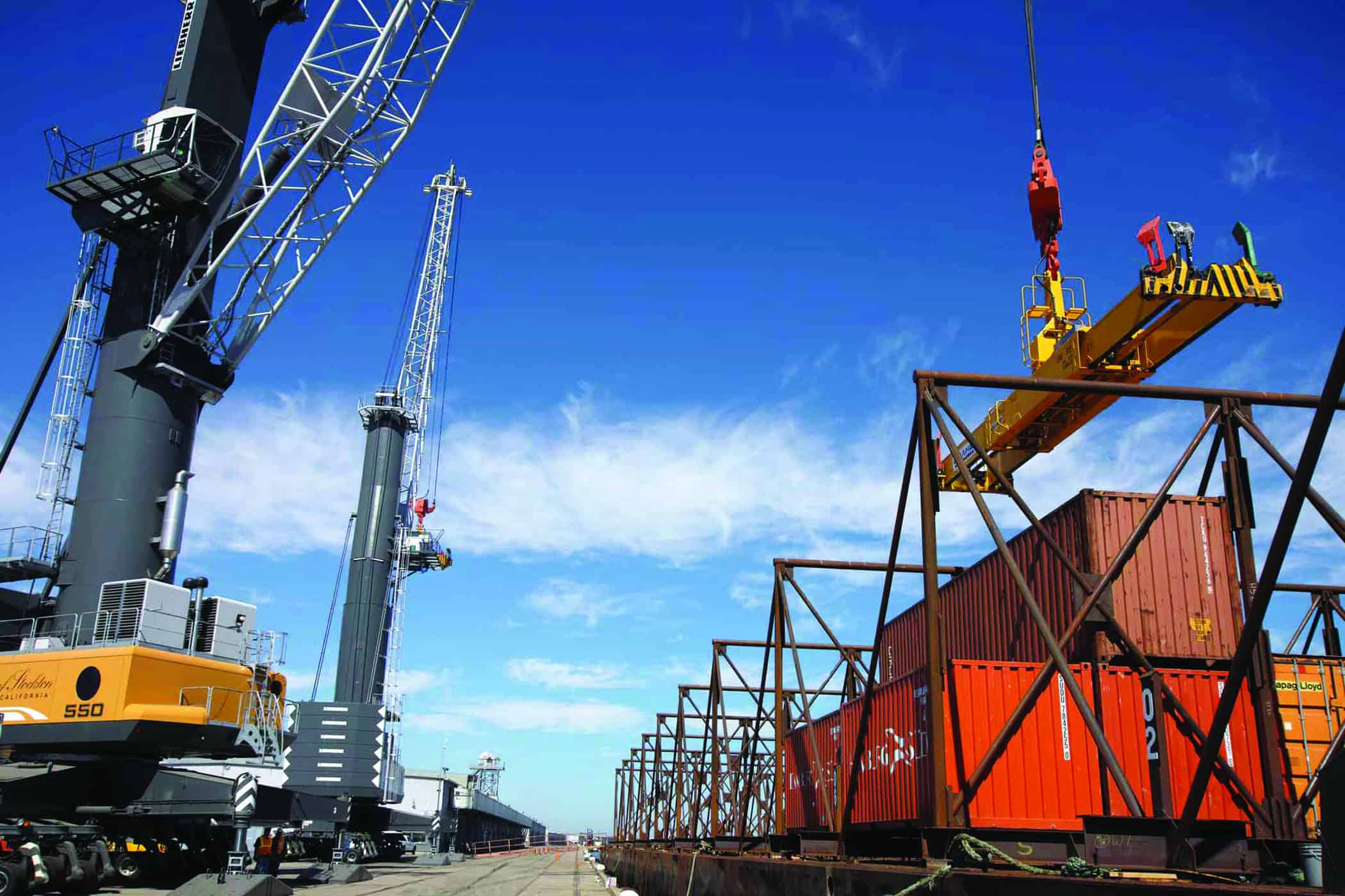Stockton chooses SSA Marine to operate its containers-on-barge terminal