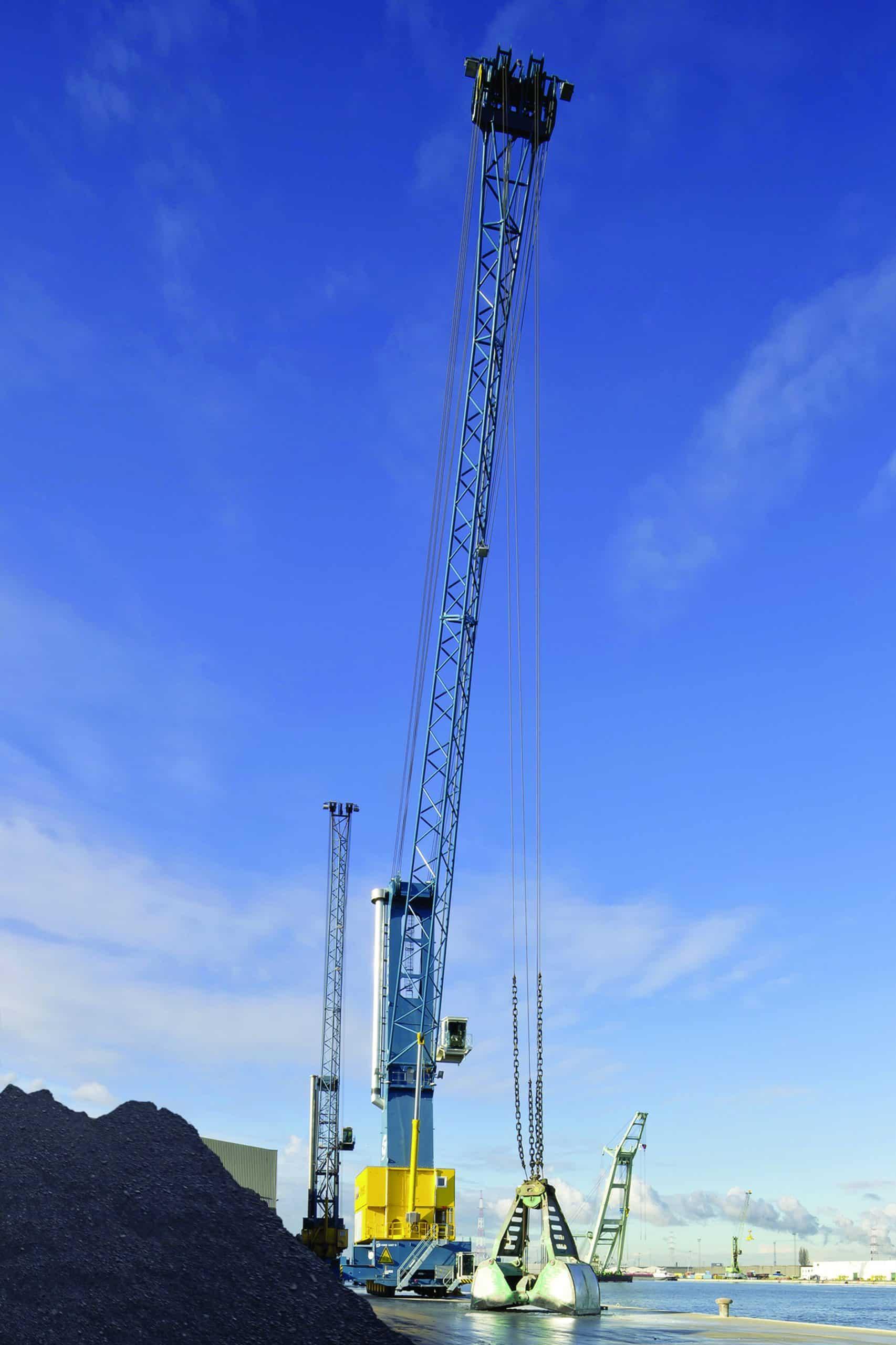 Terex delivers 1500th Gottwald mobile harbour crane