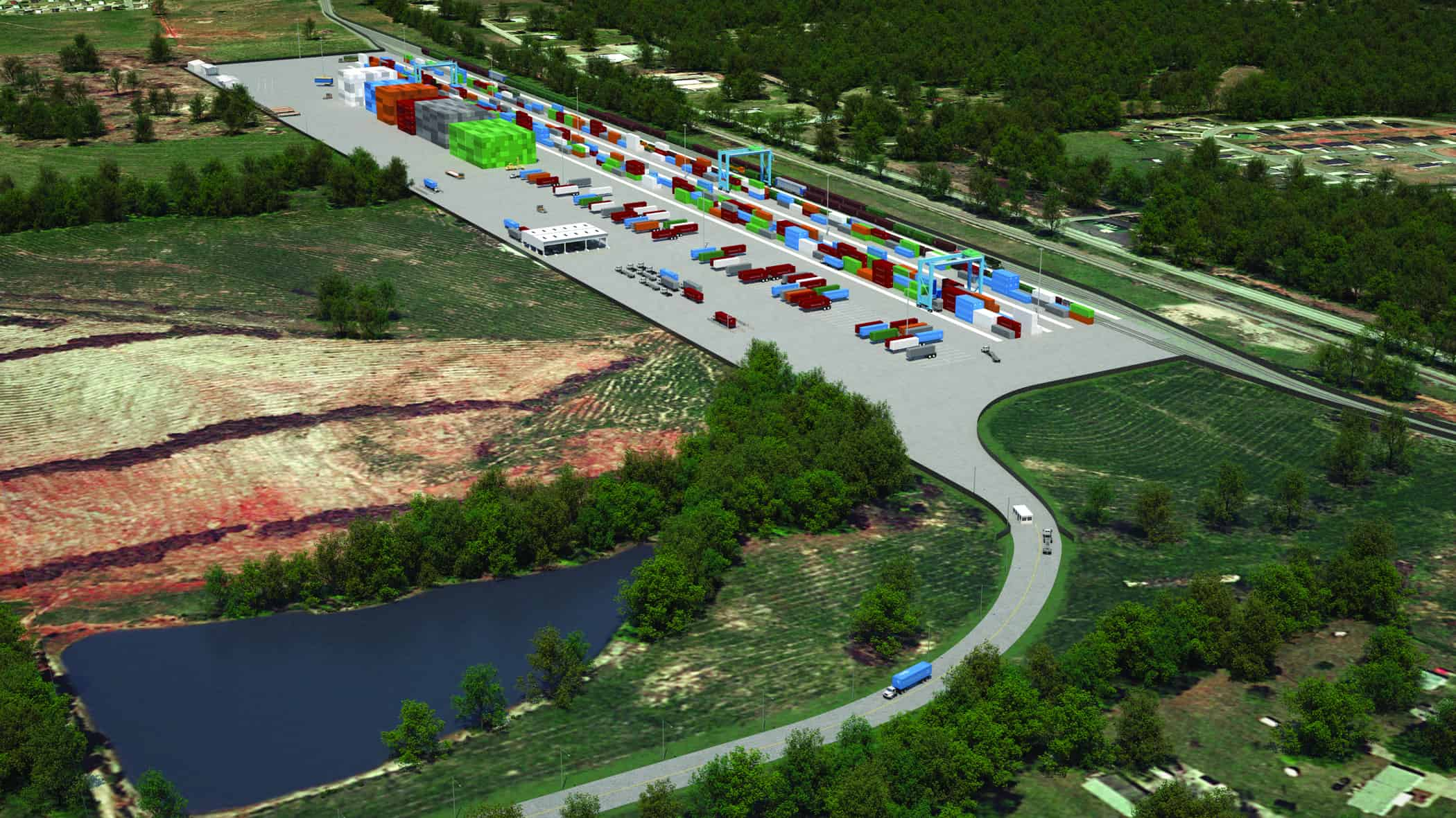 Construction of South Carolina Inland Port gets underway
