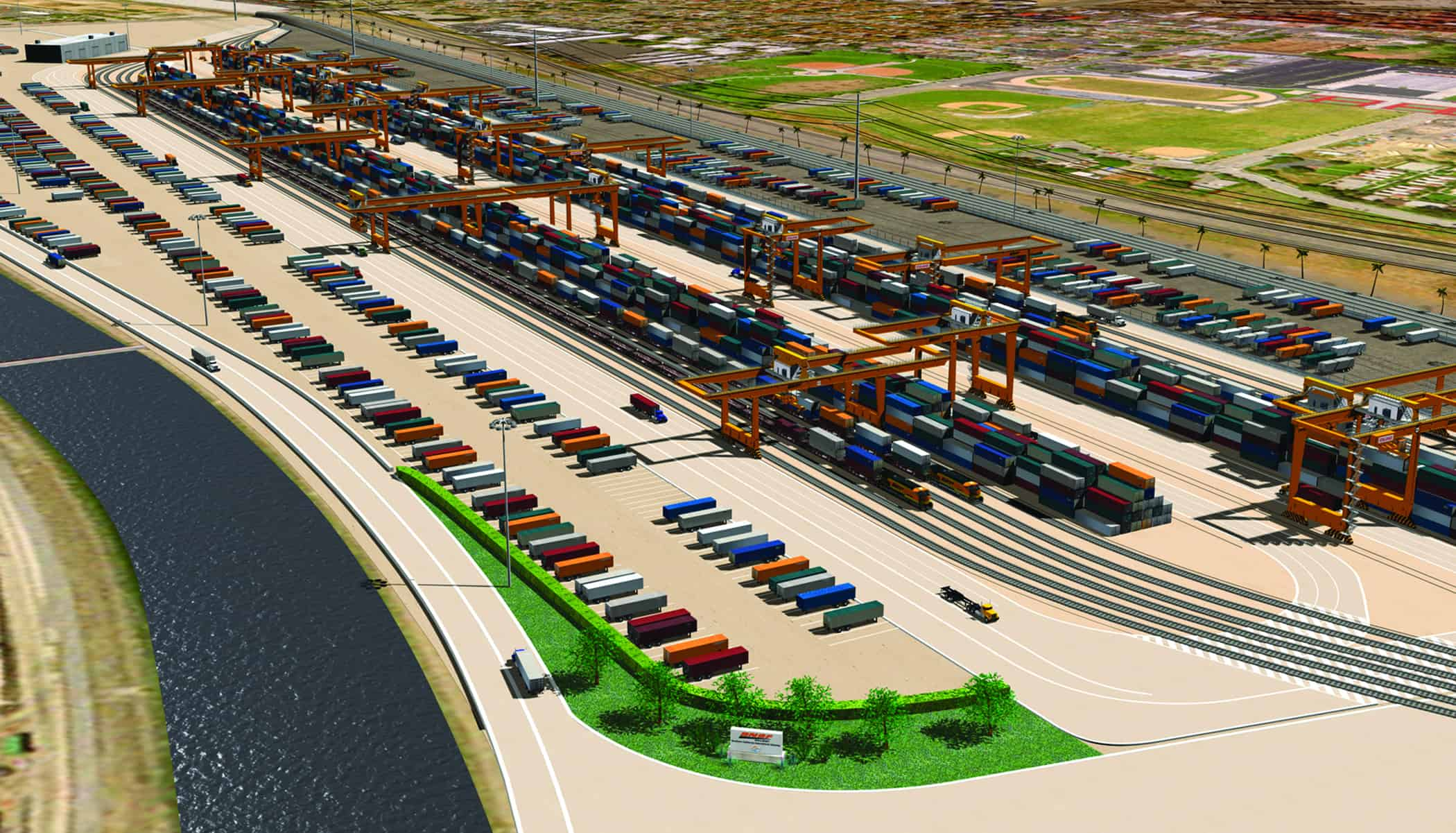 Environmental approval for Southern California International Gateway project