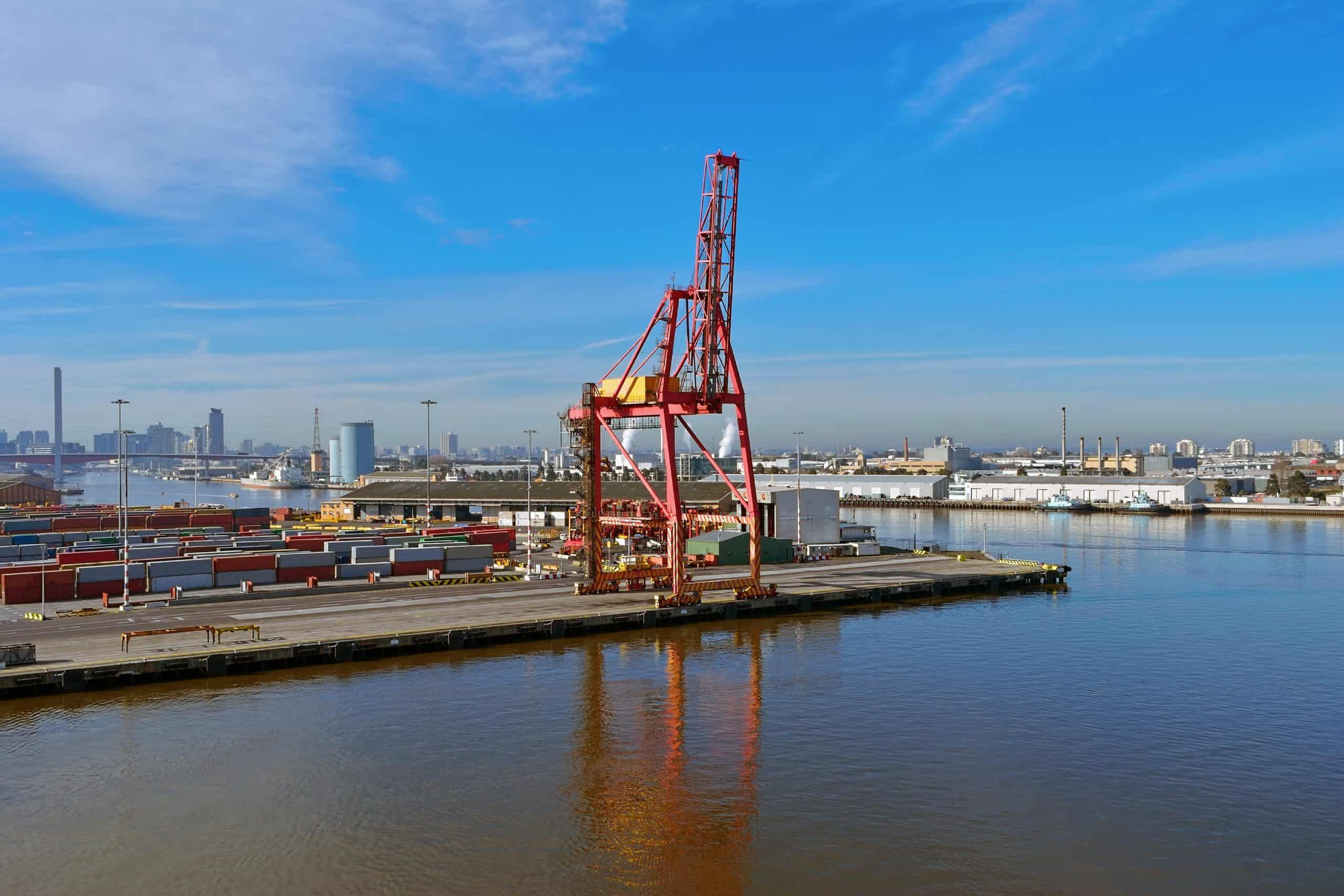 SLR sustains Port of Melbourne