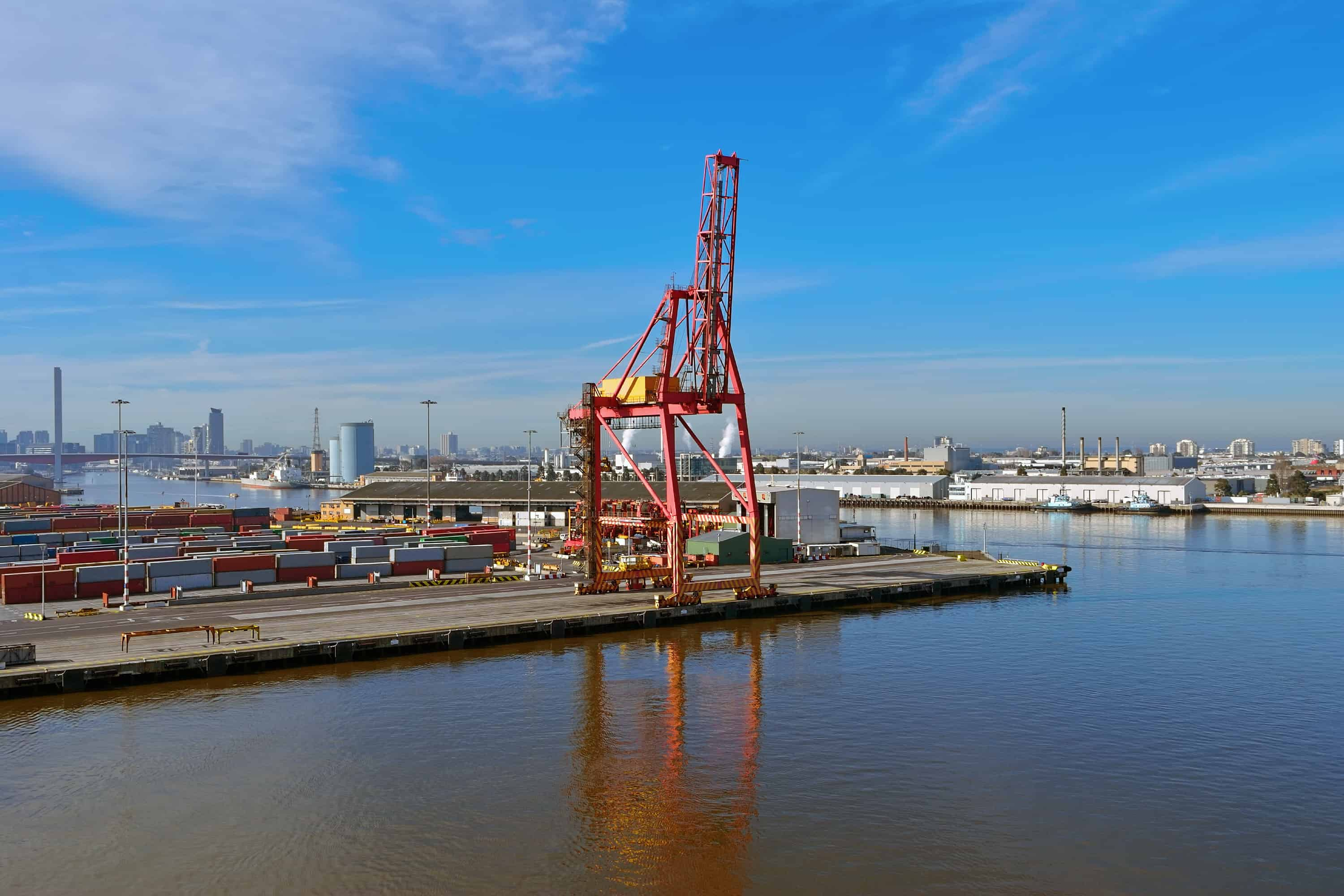 SLR sustains Port of Melbourne