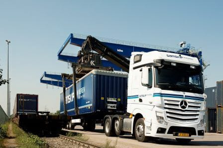 Samskip rail expands in Sweden