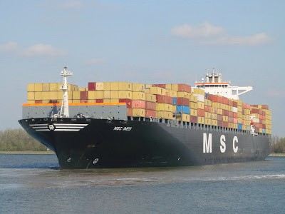 GIP to buy 35% of MSC terminal division