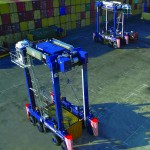 Terex hybrid drive straddle carriers