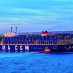 CMA CGM's Marco Polo at TIL's Malta Freeport