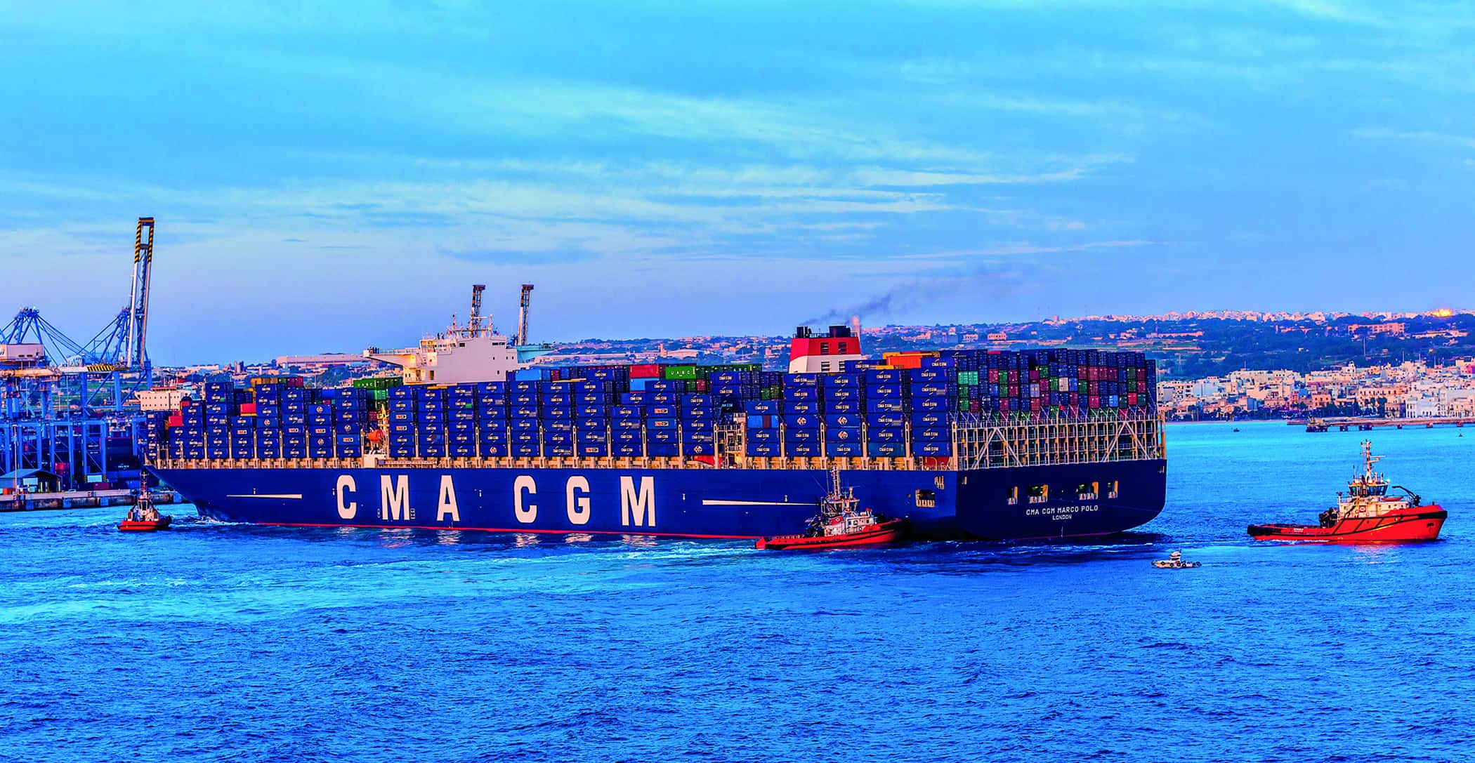 CMHI and CMA CGM complete Terminal Link transaction
