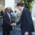Nigerian Minister Aganga visits Hague