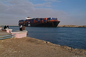 "Suez closure need not be a ""train smash"", says Drewry"