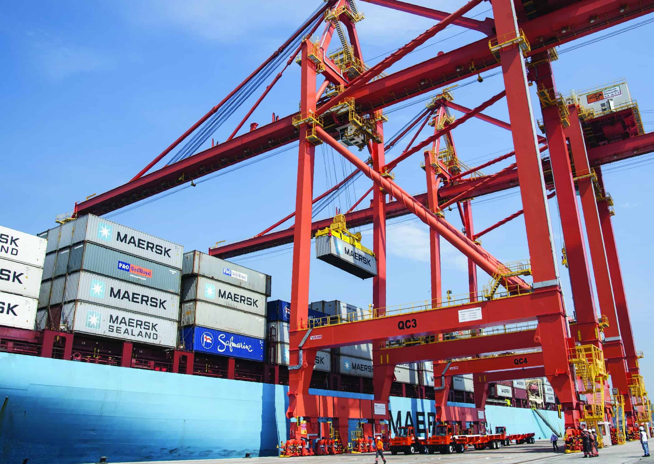 ICTSI Mexico services its first vessel