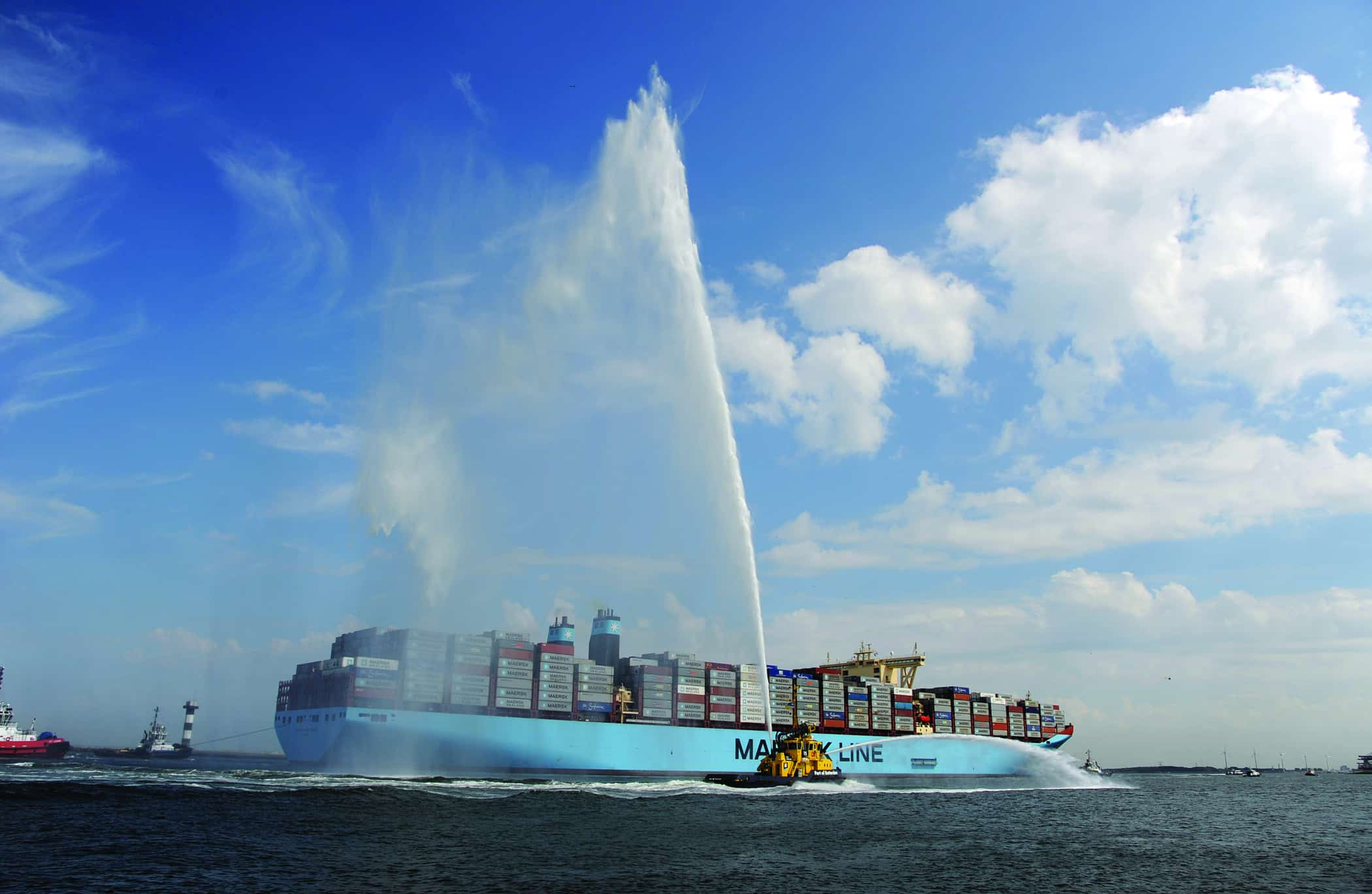 APM Terminals Rotterdam welcomes world's largest vessel