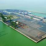The PSA common user ZIP container terminal in Zeebrugge