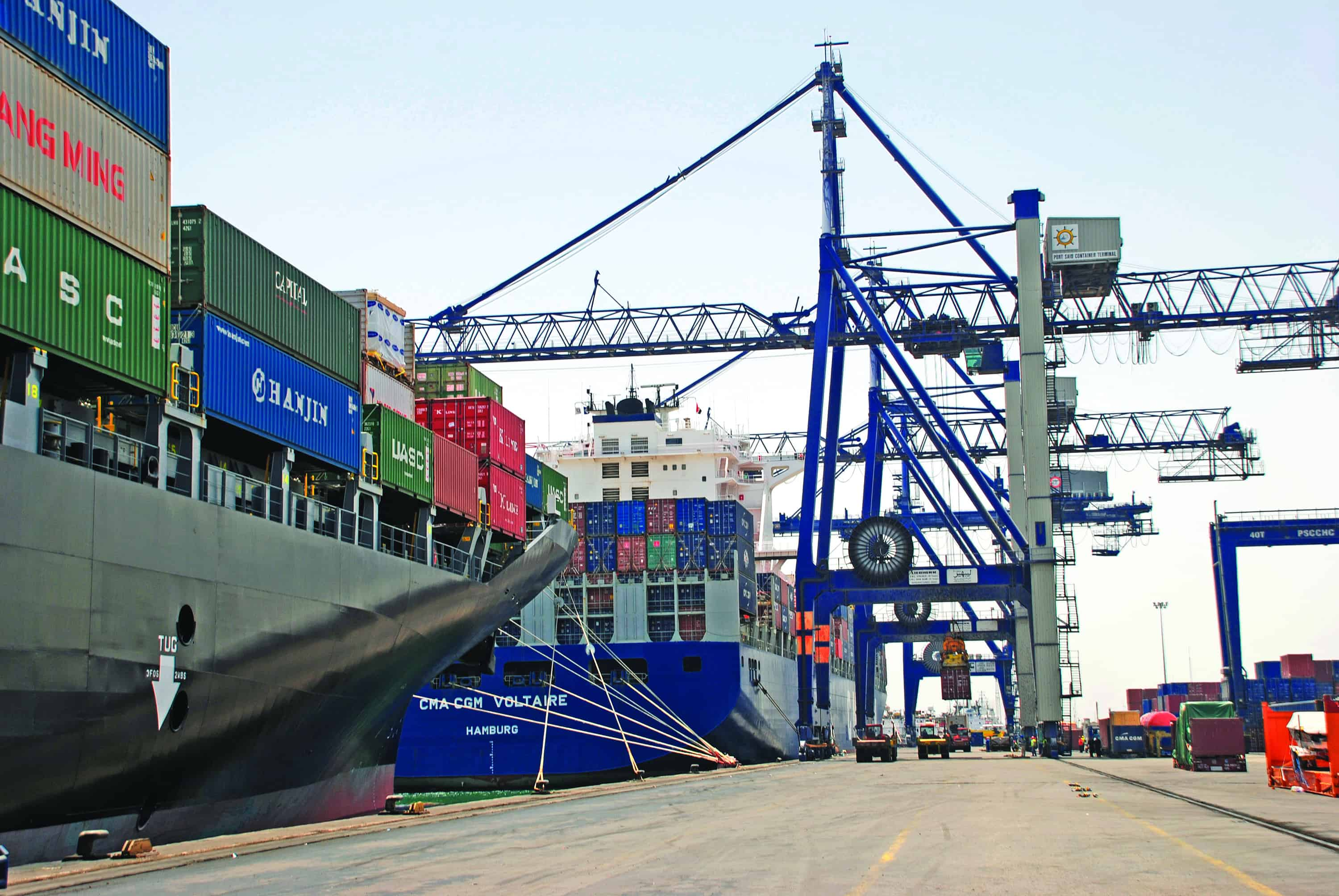 More improvements for West Port Said container terminal
