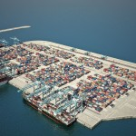 The proposed new port in Ashdod
