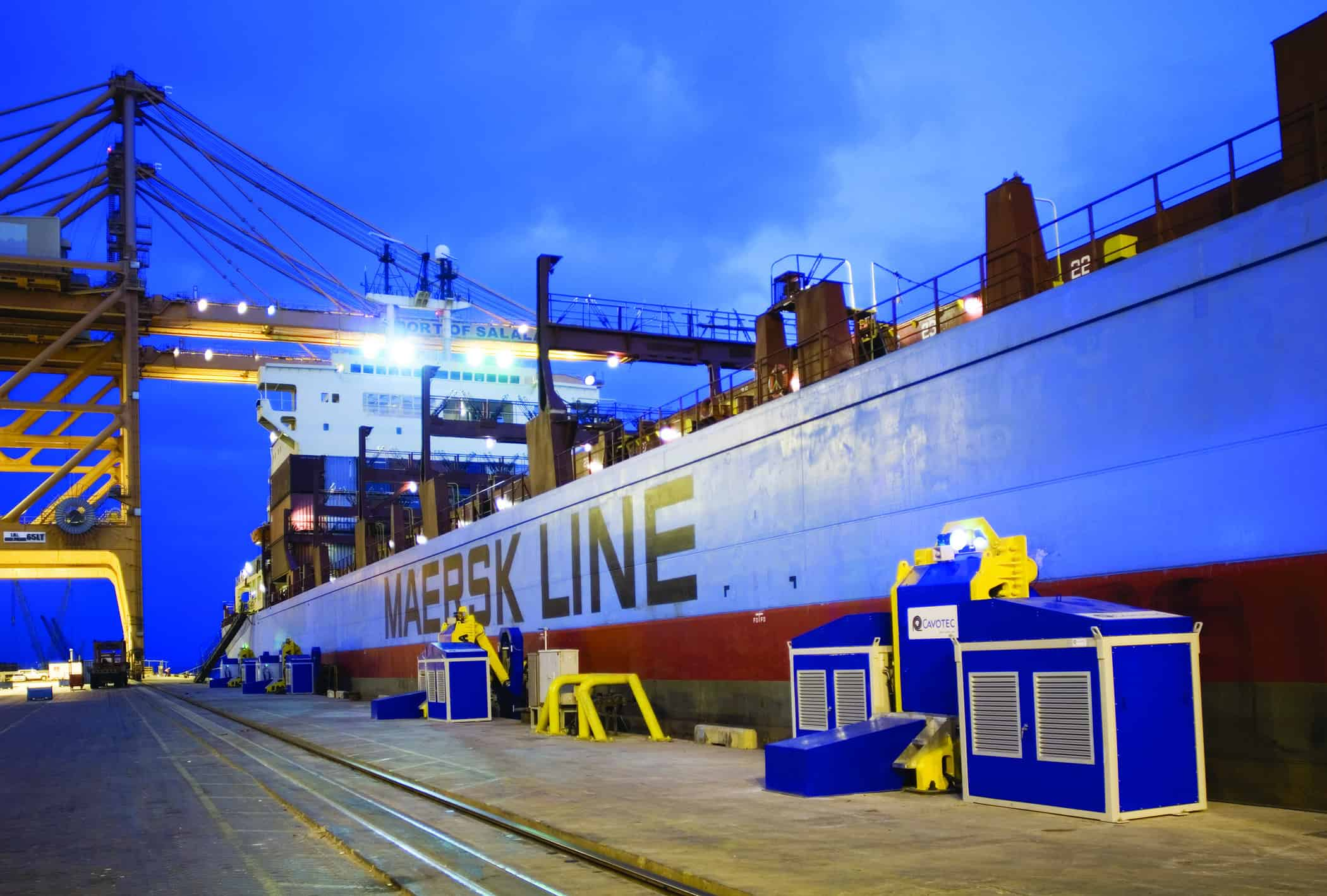 Cavotec wins largest ever order for MoorMaster automated mooring