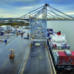 London Gateway's first scheduled vessel