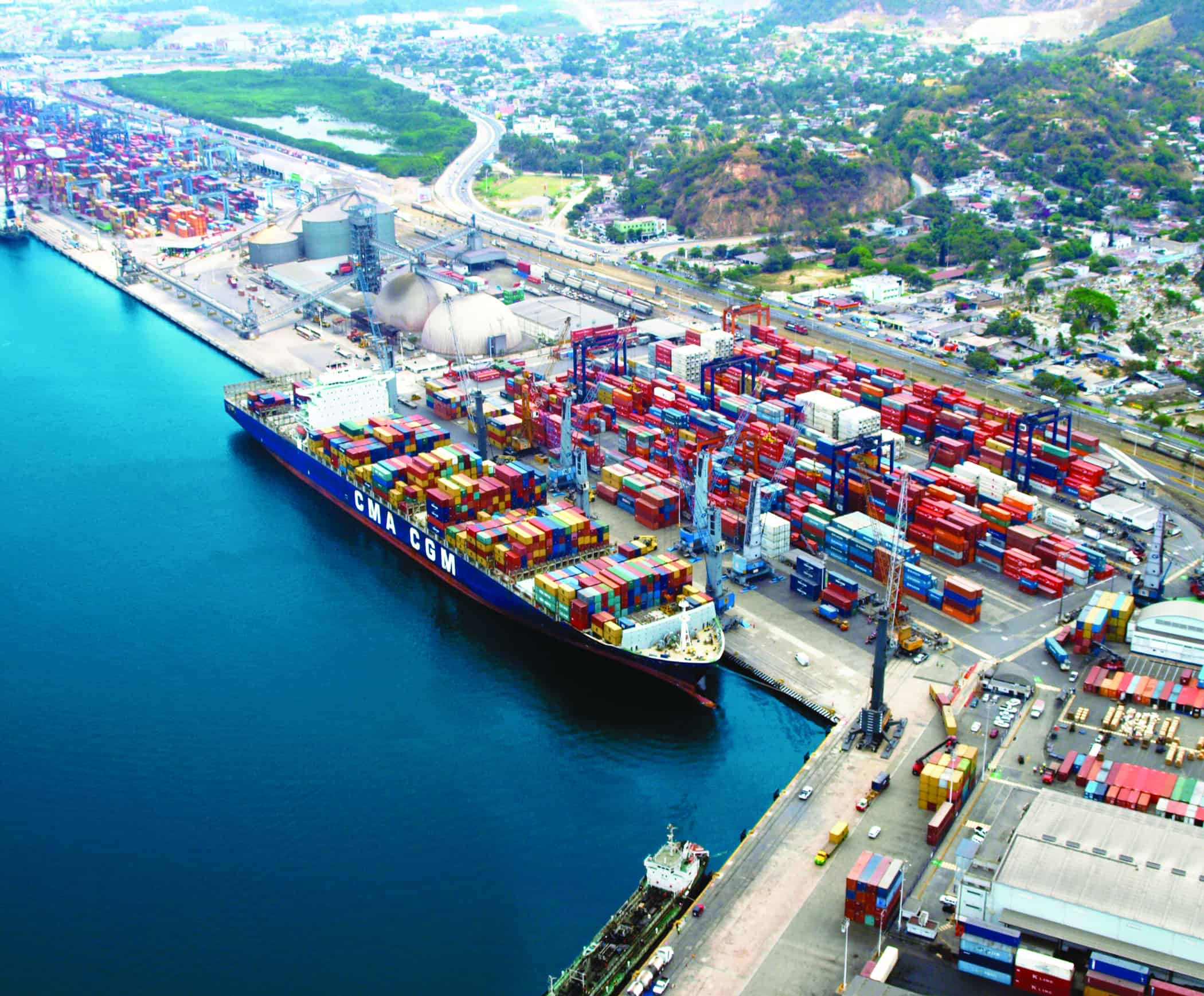 Latin American port activity declines