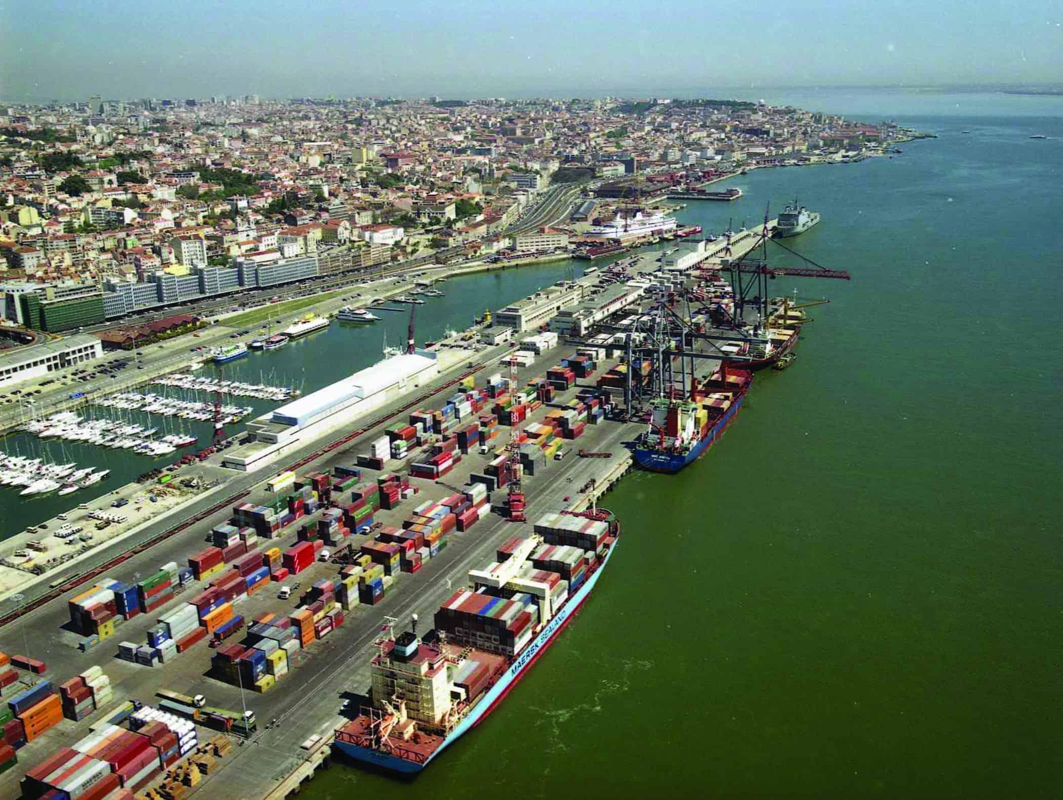 Strike action at Lisbon port