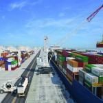 The new Gottwald crane will primarily be used for container handling