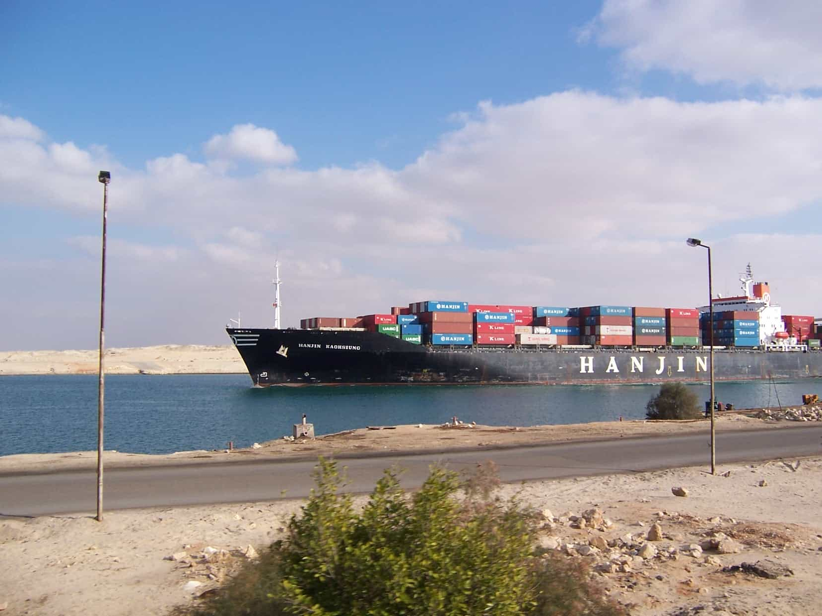 Panama Canal delay will benefit Suez