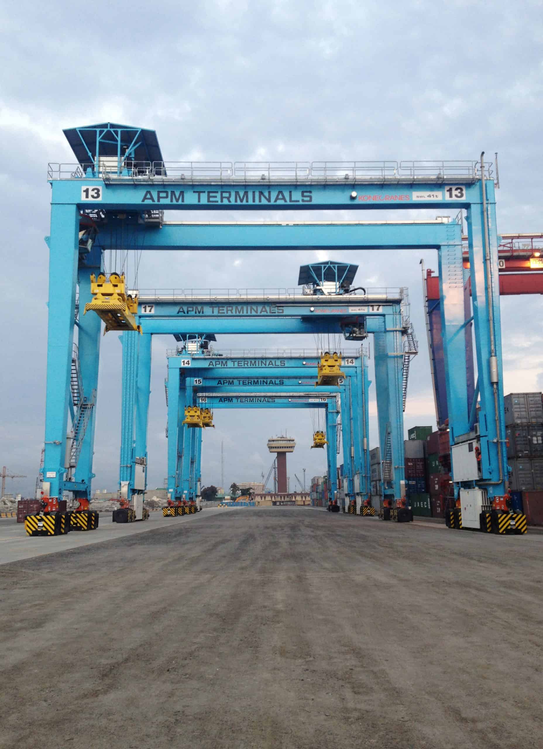 Konecranes completes delivery of RTGs to Apapa container terminal