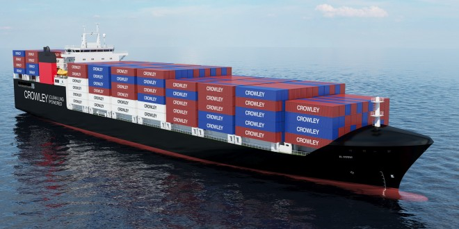 Crowley orders gas-powered Conros