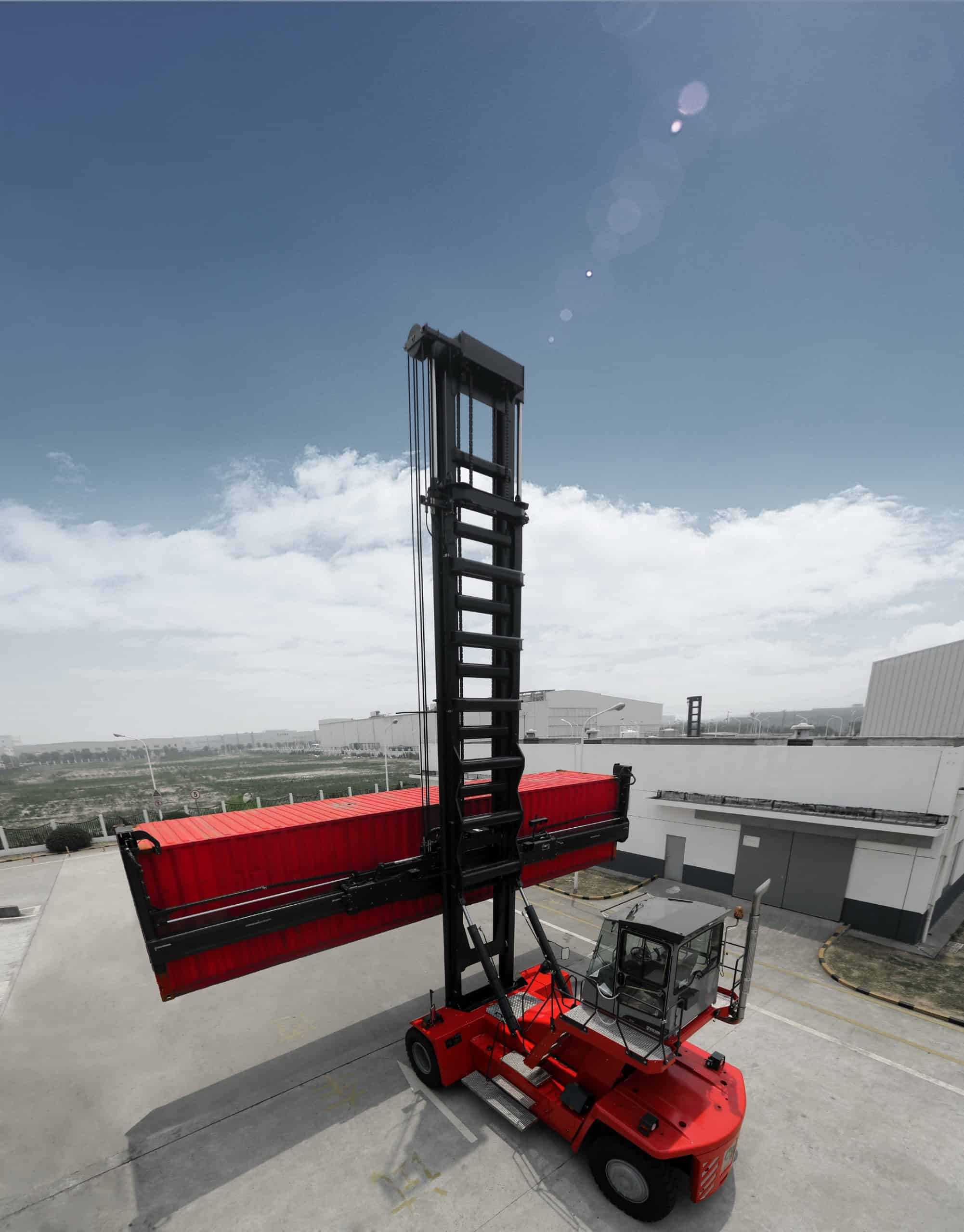 Year-end rush of orders for Kalmar