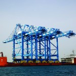 The new cranes will increase capacity by 750,000 teu