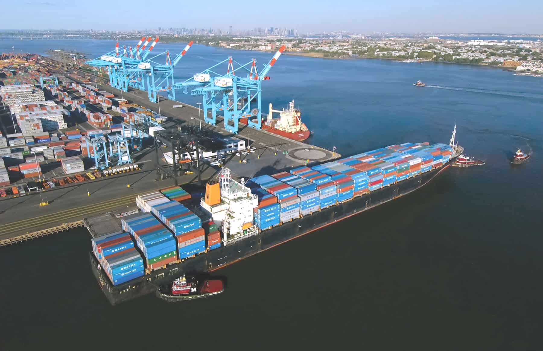 New APM Terminals Elizabeth and Brookfield joint venture