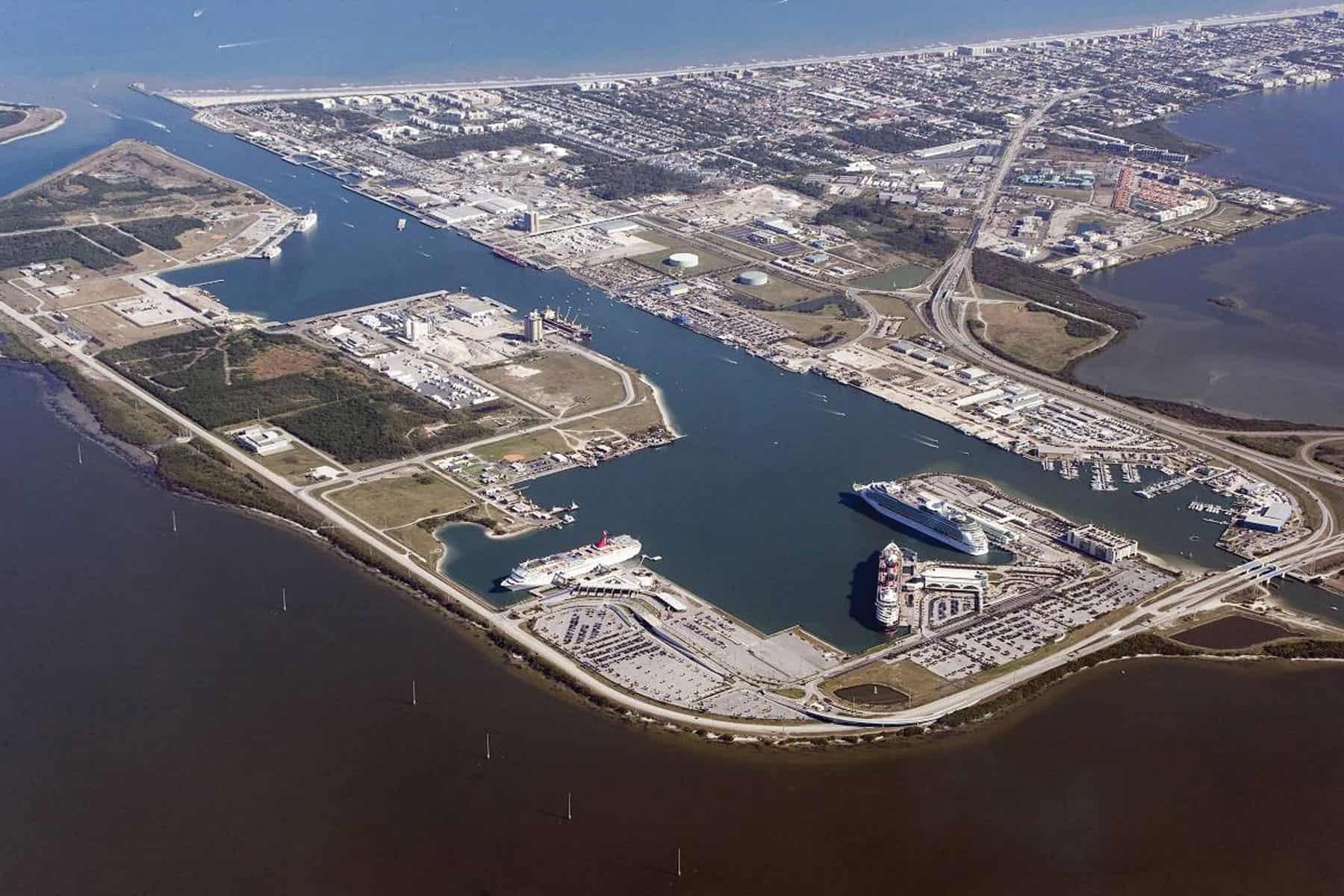 Port Canaveral begins harbour expansion