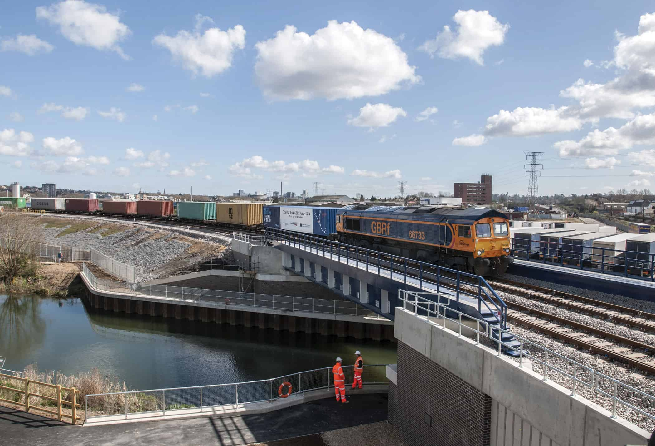 New Felixstowe rail line reduces freight journey times