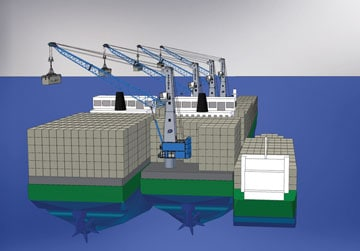The Orkney floating container terminal alternative