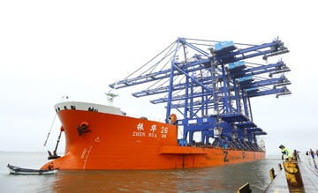 TCP receives four portainers for new berth