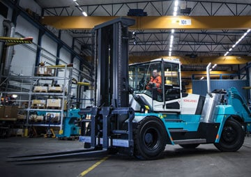 Konecranes unveils its next generation of lift trucks at CeMAT