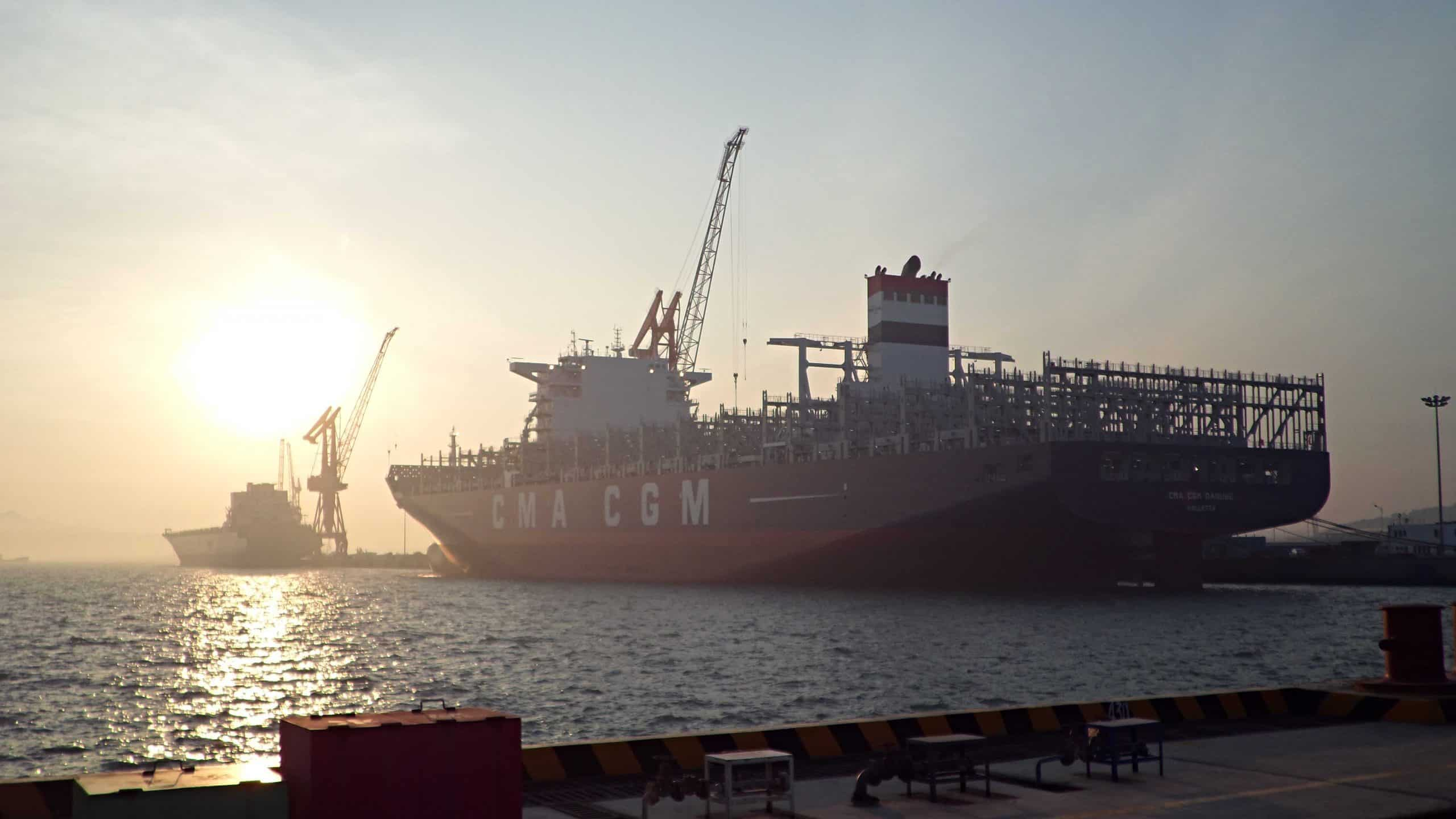 CMA CGM Danube launches