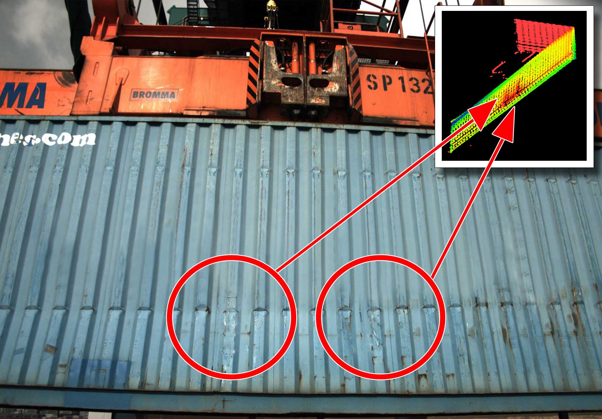 Automatic Container Damage Detection System Launched