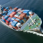 Container throughput in major global ports grew by 4%