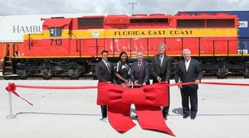 FEC opens new Everglades rail facility