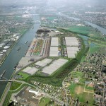 How the Trilogiport container terminal will look